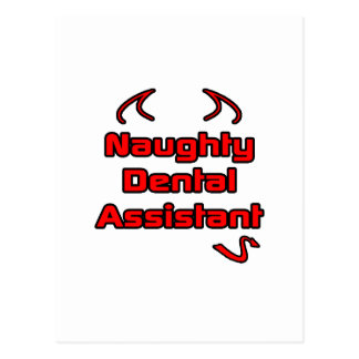 Naughty Dental Assistant Post Card