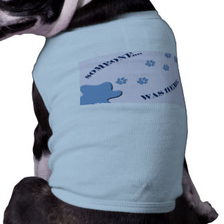 Naughty Doggy T-Shirt Sleeveless Dog Shirt