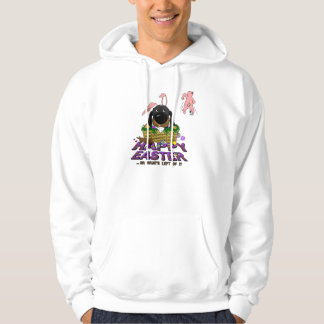 Naughty Doxie Happy Easter Hoodie
