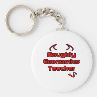 Naughty Economics Teacher Key Chains
