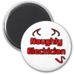 Naughty Electrician Magnets