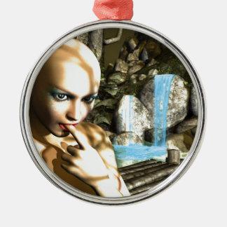 Naughty Fairy Christmas Ornament