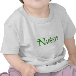 Naughty for Christmas T-shirt
