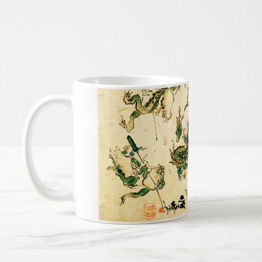 Naughty Frogs Coffee Mug