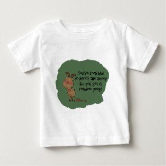 Naughty Funny Christmas Reindeer Poop Gift Saying Shirts