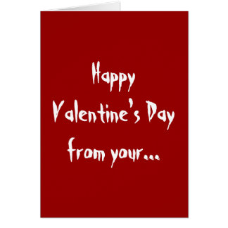 Naughty Girl Happy Valentine s Day Greetings Card