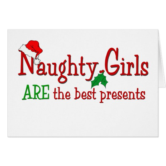 Naughty Girls Card