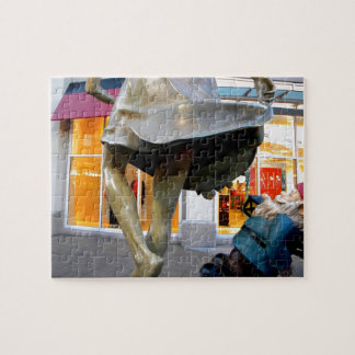 Naughty Gnome Jigsaw Puzzle
