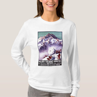 Naughty Gnomes Making Giant Snowball Poster T-Shirt