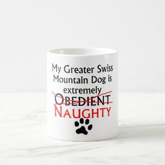 Naughty Greater Swiss Mountain Dog Mug