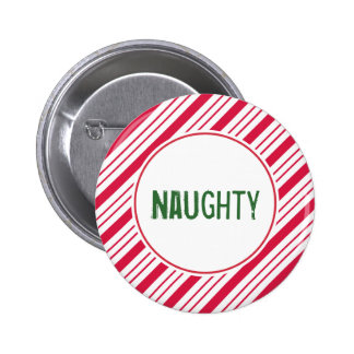 Naughty Holiday Button