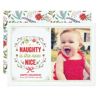Naughty is the New Nice Holiday Christmas Cards