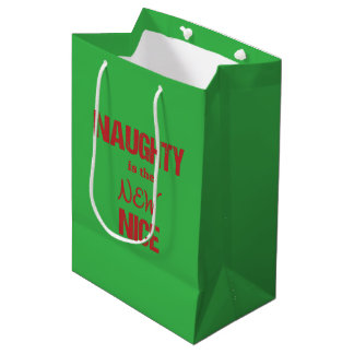 Naughty is the NEW Nice Medium Gift Bag