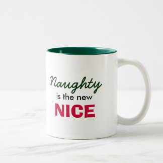 Naughty is the new Nice Two-Tone Coffee Mug