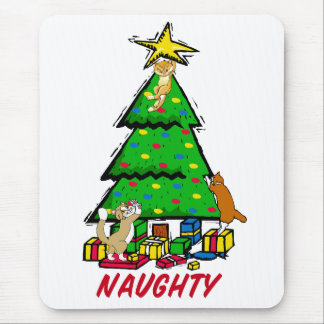 Naughty Kitties Mouse Pad