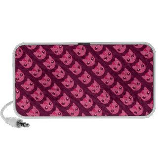 Naughty Kitty Doodle iPod Speaker