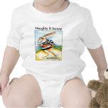 Naughty lil bunny baby tee shirt