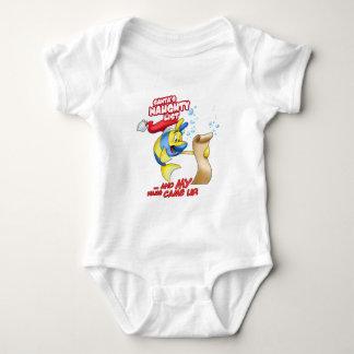 naughty list cartoon fish t shirts