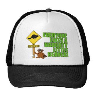 Naughty Little Beaver Hat