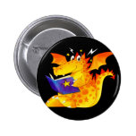 Naughty Little Dragon Buttons