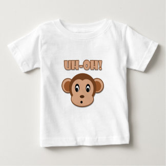 Naughty Monkey Baby T-Shirt