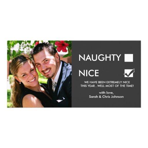 Naughty of Nice? Photo Cards