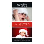 Naughty of Nice? Photo Card Template