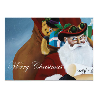 Naughty or Nice 13 Cm X 18 Cm Invitation Card