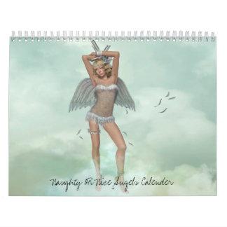 Naughty OR Nice Angels Calender Calendars
