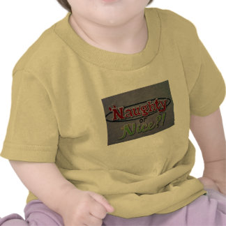 """NAUGHTY OR NICE"" CHILD'S T-SHIRT"