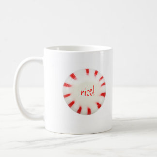 naughty or nice coffee mug