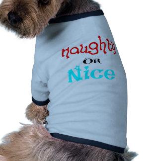 Naughty or Nice Dog Clothing