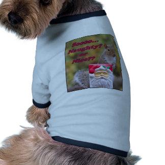 Naughty or Nice Doggie T-shirt