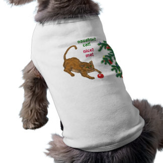 Naughty or Nice Pet Clothing