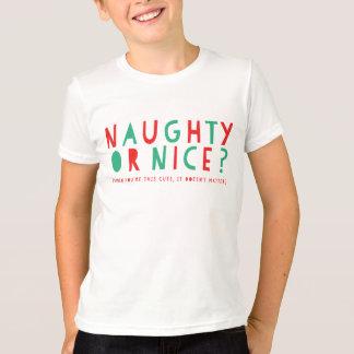 Naughty or Nice | Holiday T-Shirt