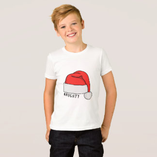 Naughty or Nice Kids T-Shirt - White