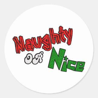 Naughty Or Nice? Sticker