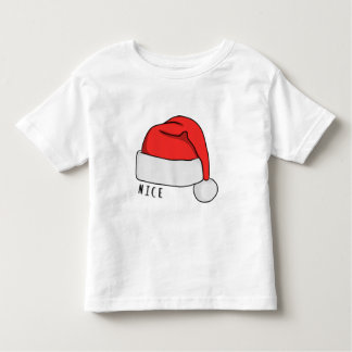Naughty or Nice Toddler T-Shirt - White