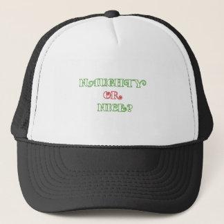 Naughty or Nice? Trucker Hat
