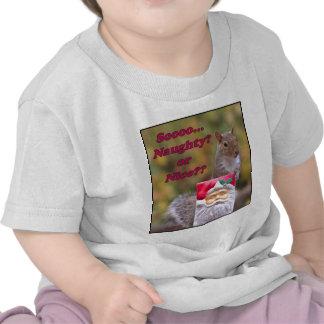 Naughty or Nice Tshirts
