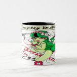 Naughty Or Nice - Two-Tone Mug