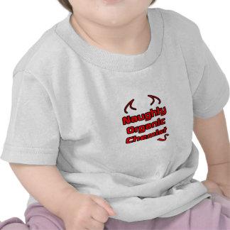 Naughty Organic Chemist Tee Shirts