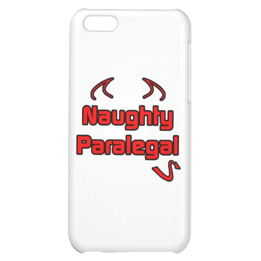 Naughty Paralegal iPhone 5C Cases
