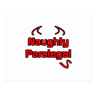 Naughty Paralegal Postcard