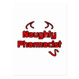 Naughty Pharmacist Postcard
