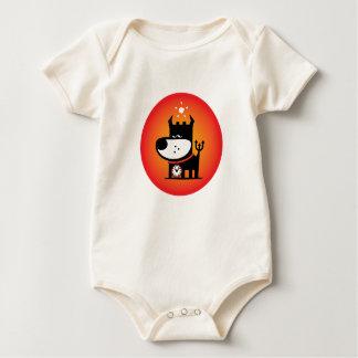 Naughty Puppy Baby Bodysuits