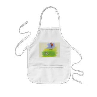 Naughty rat kids apron