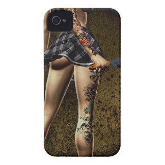 Naughty Schoolgirl Case-Mate ID iPhone 4/4S iPhone 4 Cases