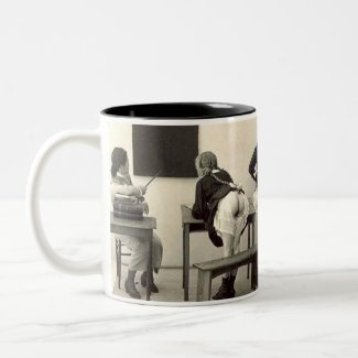 Naughty Schoolgirls Mug