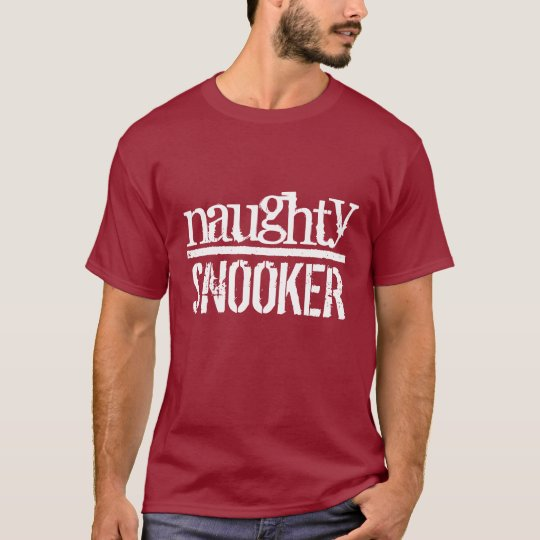 Naughty Snooker t-shirt